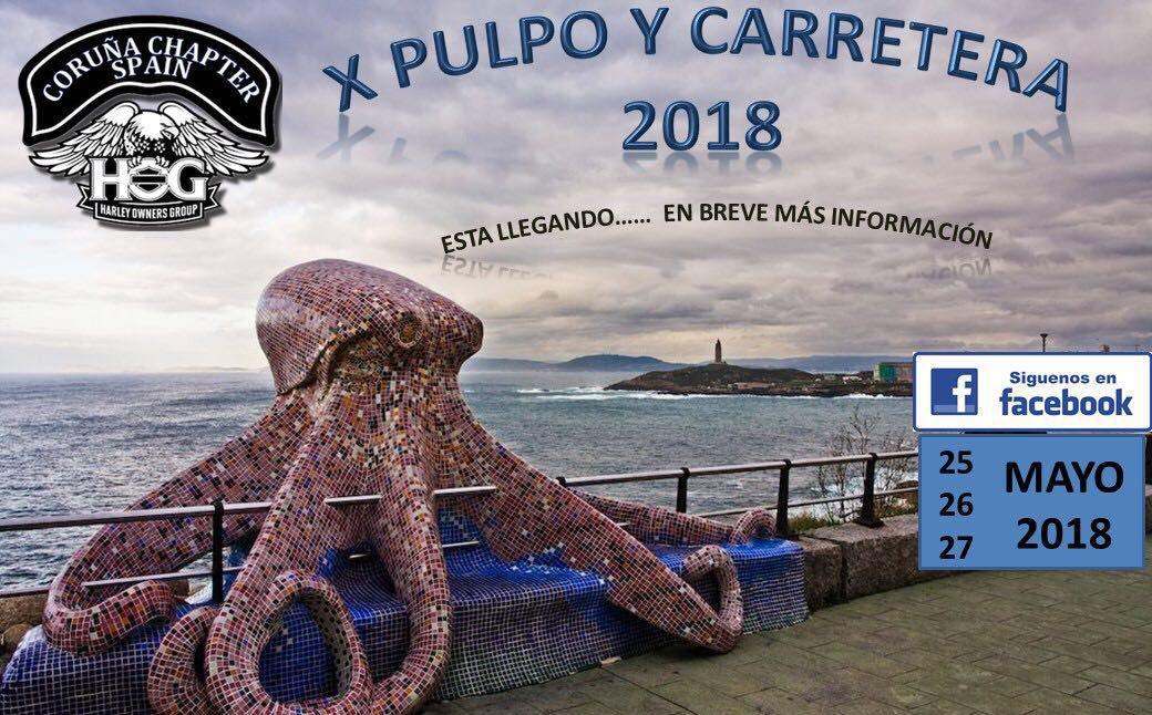 X Pulpo y Carretera 2018